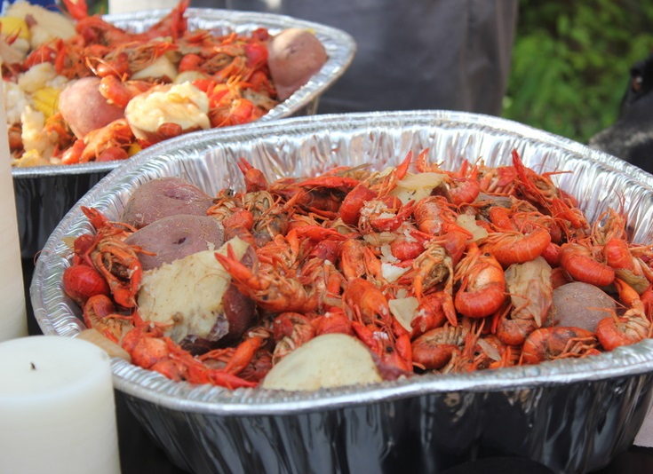 crawfish to eat